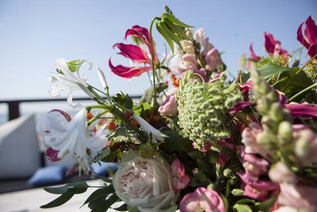Bloemen als decoratie