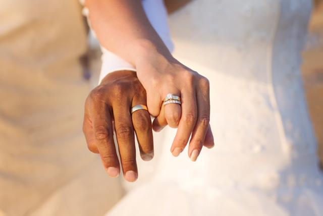 Getrouwd, de ringen